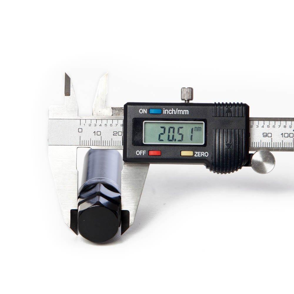 Circuit Performance Black 7 Point Star Spline Lug nut Tool Key