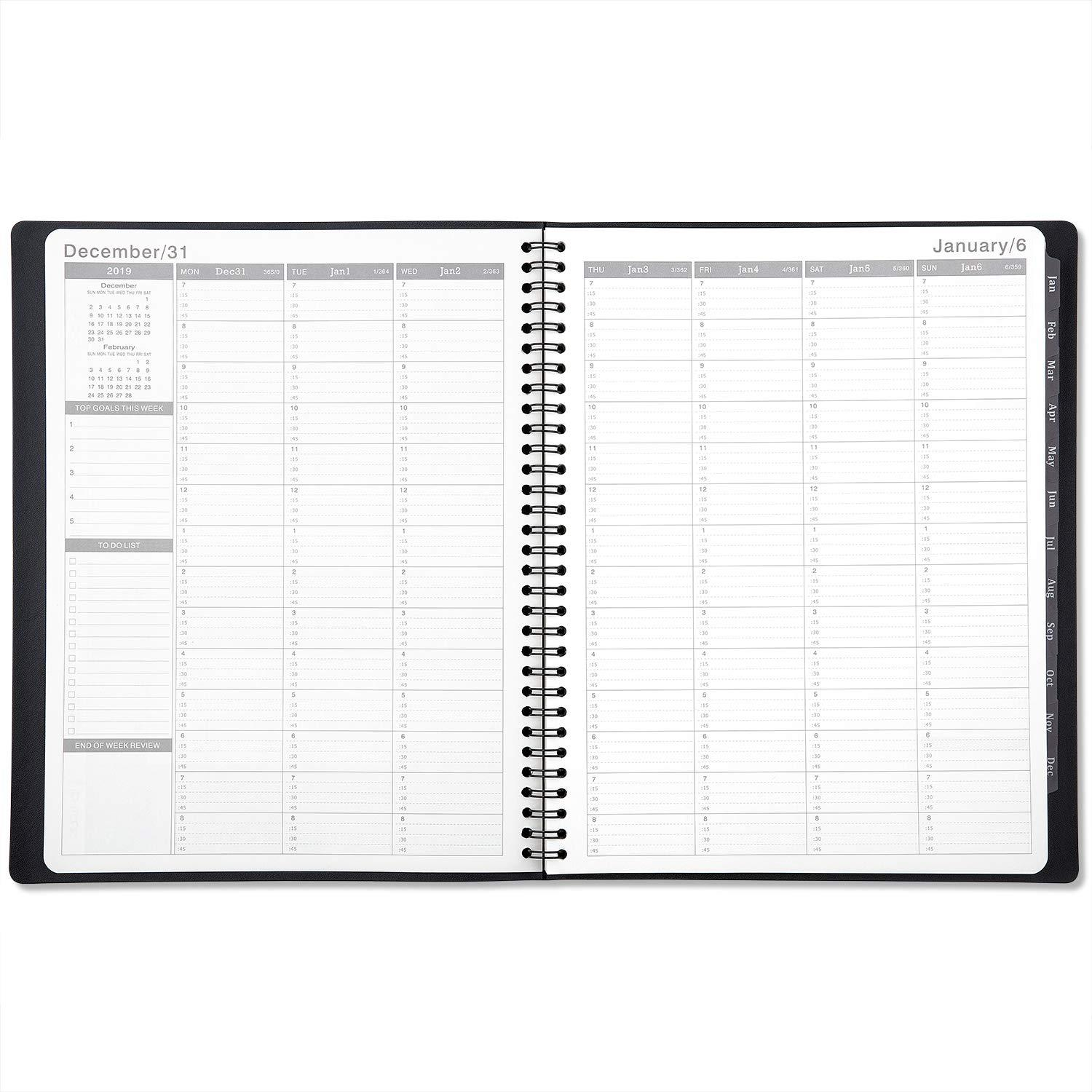 2019 weekly appointment book  planner