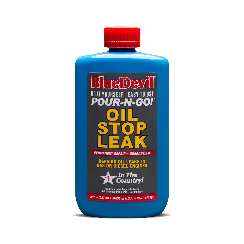 Oil Leak Repair >> Details About Blue Devil Oil Stop Leak Permanent Repair For Gas Diesel Engines 8 Oz